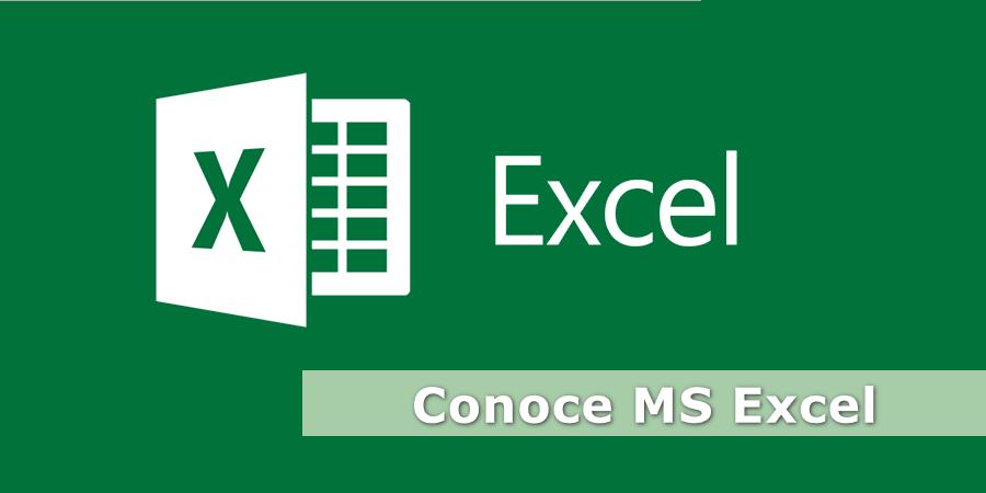 Conoce MS Excel