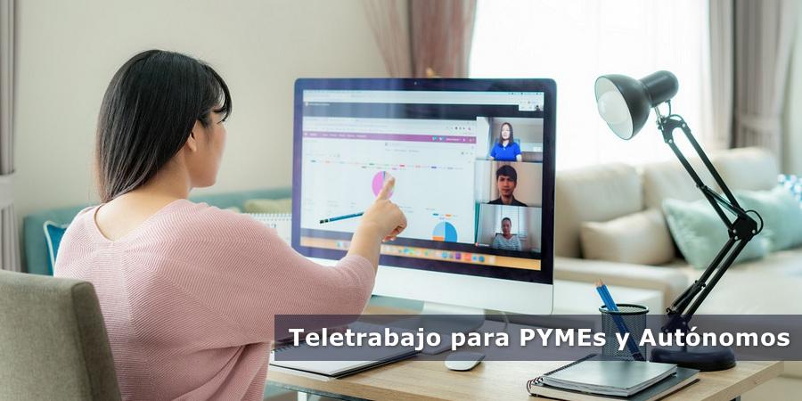 Teletrabajo para PYMEs y Autónomos